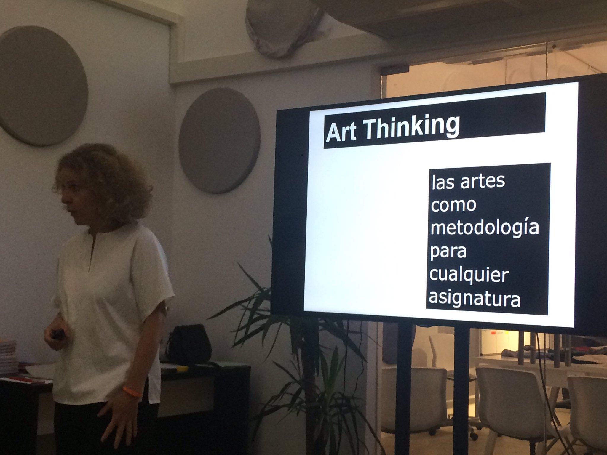 Art thinking como metodología para crear contenido educativo en vídeo by @mariaacaso #santillanalab https://t.co/3wLroQBKdK