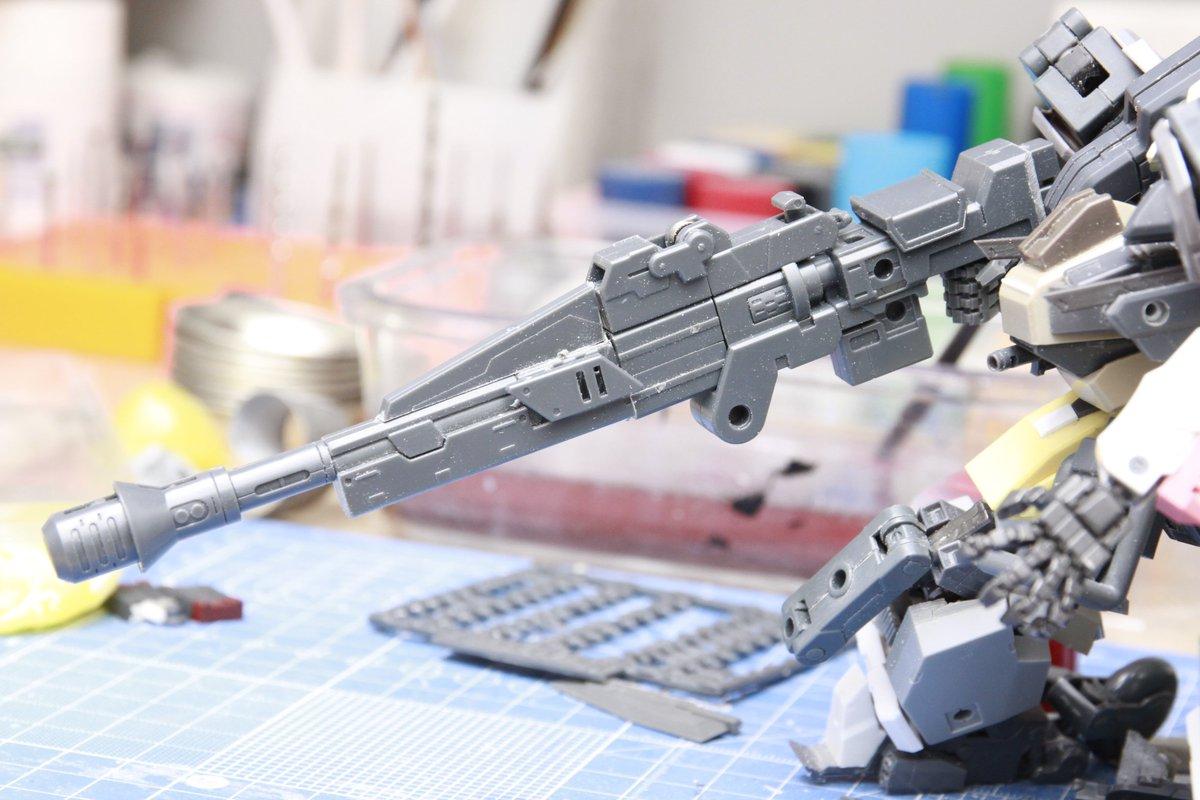 風呂上がりのテンションででっち上げた 高威力型ライフル https://t.co/uGo1yJIJcm