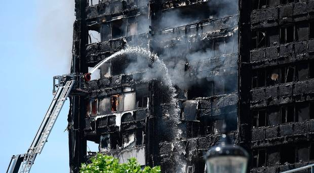 London fire: Terrified residents 'jumped from 15th floor'
