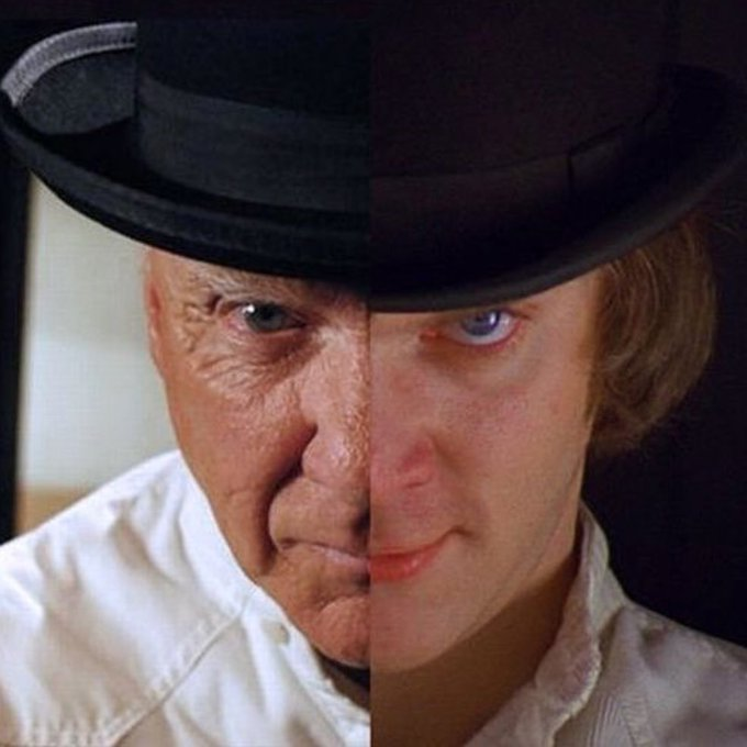 74 and still awesome! Happy Birthday Malcolm McDowell