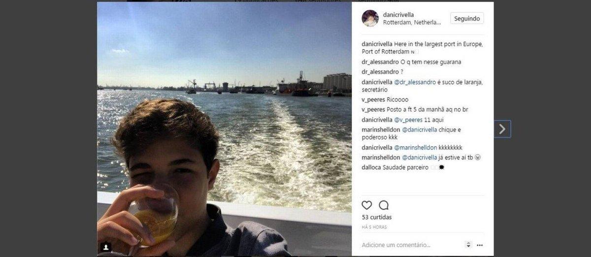 Neto de Crivella desfruta da Holanda durante viagem oficial do avô. https://t.co/TNAhqI9qI4