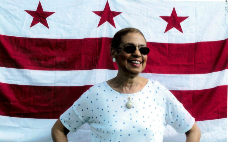 Repping my beloved hometown flag on #FlagDay! DC's stars &amp; stripes inspire our fight for #DCStatehood #DCFlagDay <br>http://pic.twitter.com/ncHjuPBgfZ