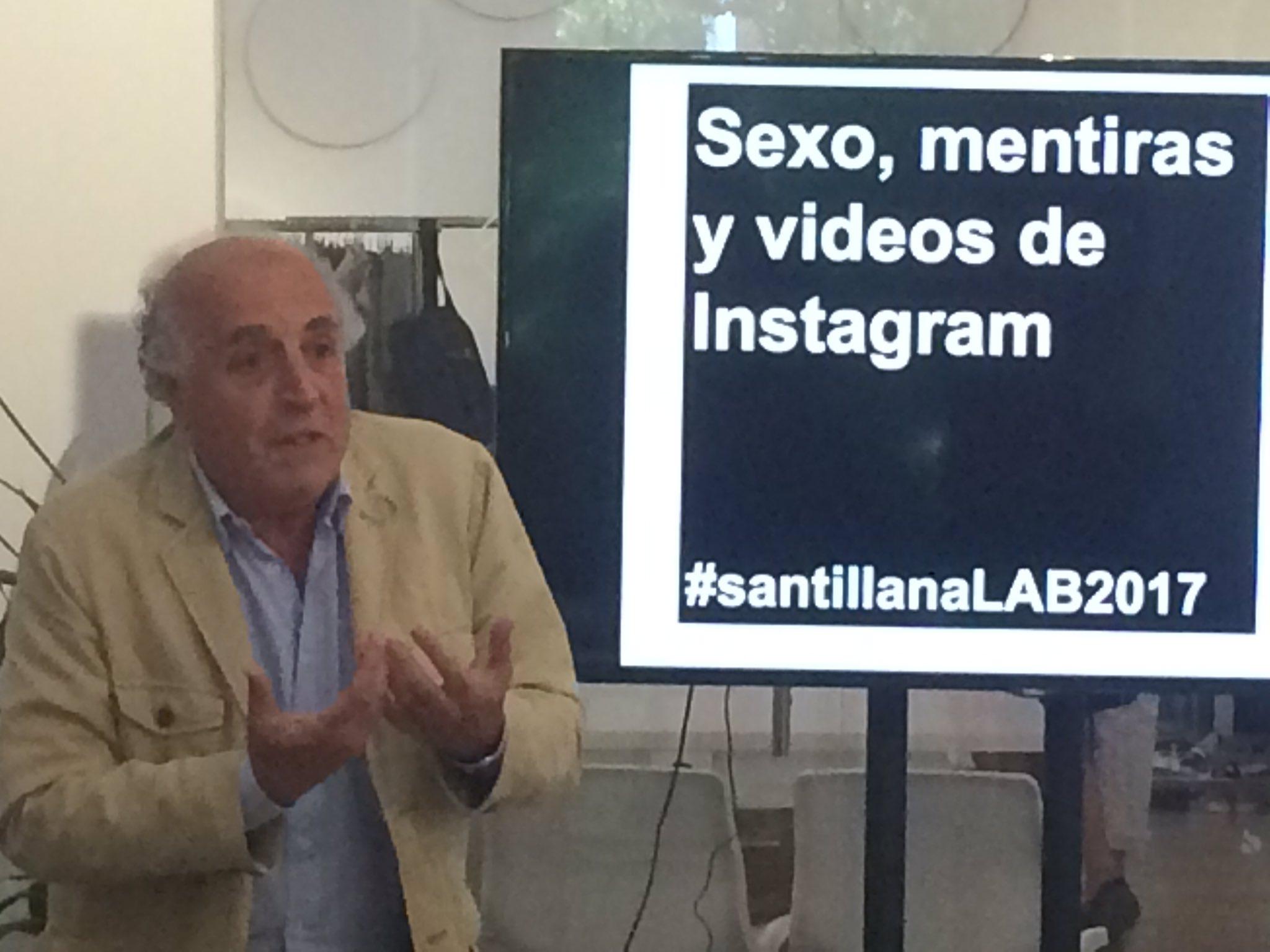 La red es un espacio sin lugares @ARdelasH #SantillanaLAB https://t.co/vC7trvi2hP