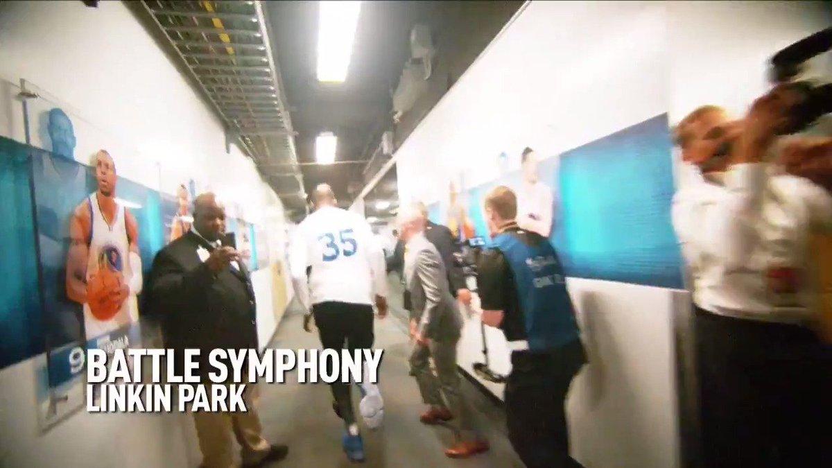 Confira os grandes momentos dos 5 jogos das #NBAFinals ao som de @linkinpark - 'Battle Symphony'!