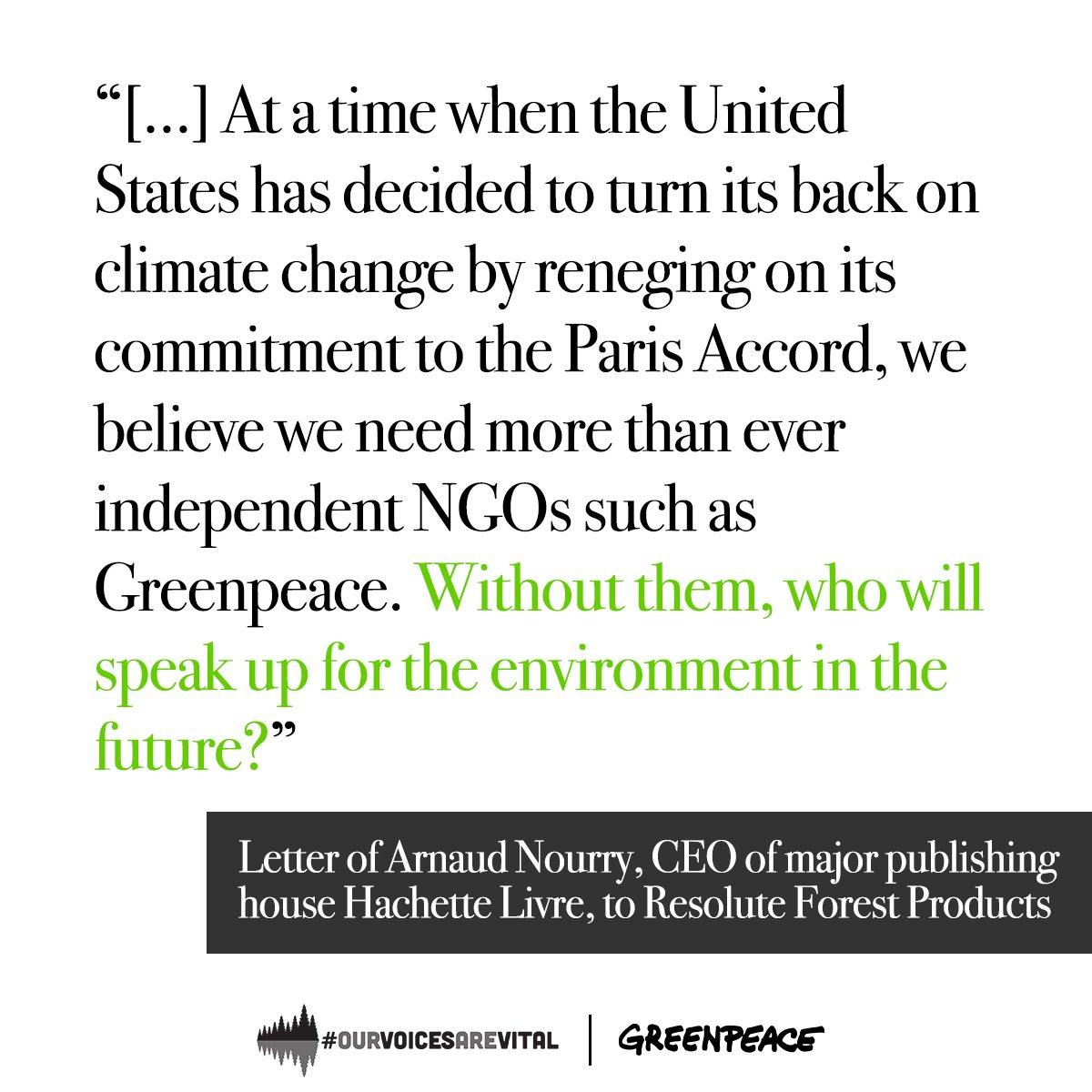 Greenpeace Canada on Twitter: