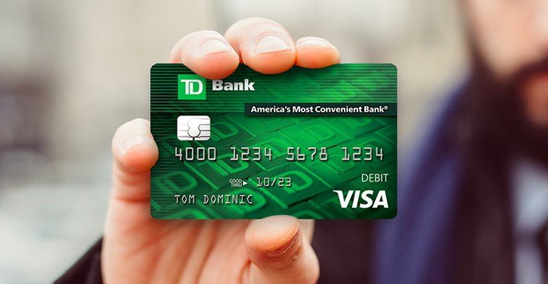 Td Bank On Twitter Use Your Td Bank Visa Debit Card Wherever You