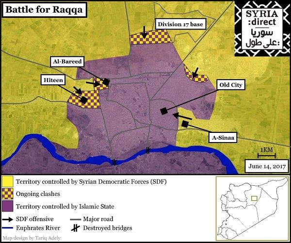 'Most violent' battles in #Raqqa city to date as UN warns of civilian toll. https://t.co/8xwGWhjHJN https://t.co/w1TvoIRewu