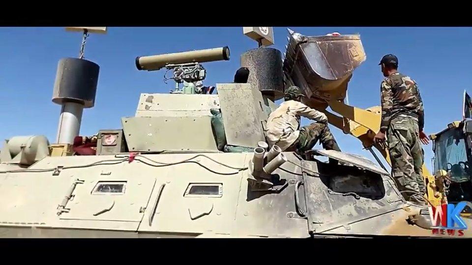 العراق يشتري مدرعات Commando Select من شركة Textron الامريكيه  DCSurPTXYAAOZjf