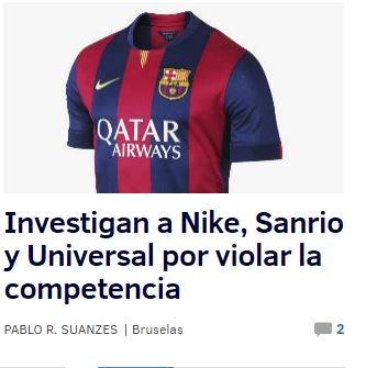 - Tengo noticia. Investigación a Nike. Qué foto ponemos? - Vaya pregunta... https://t.co/rFqgkJOPba