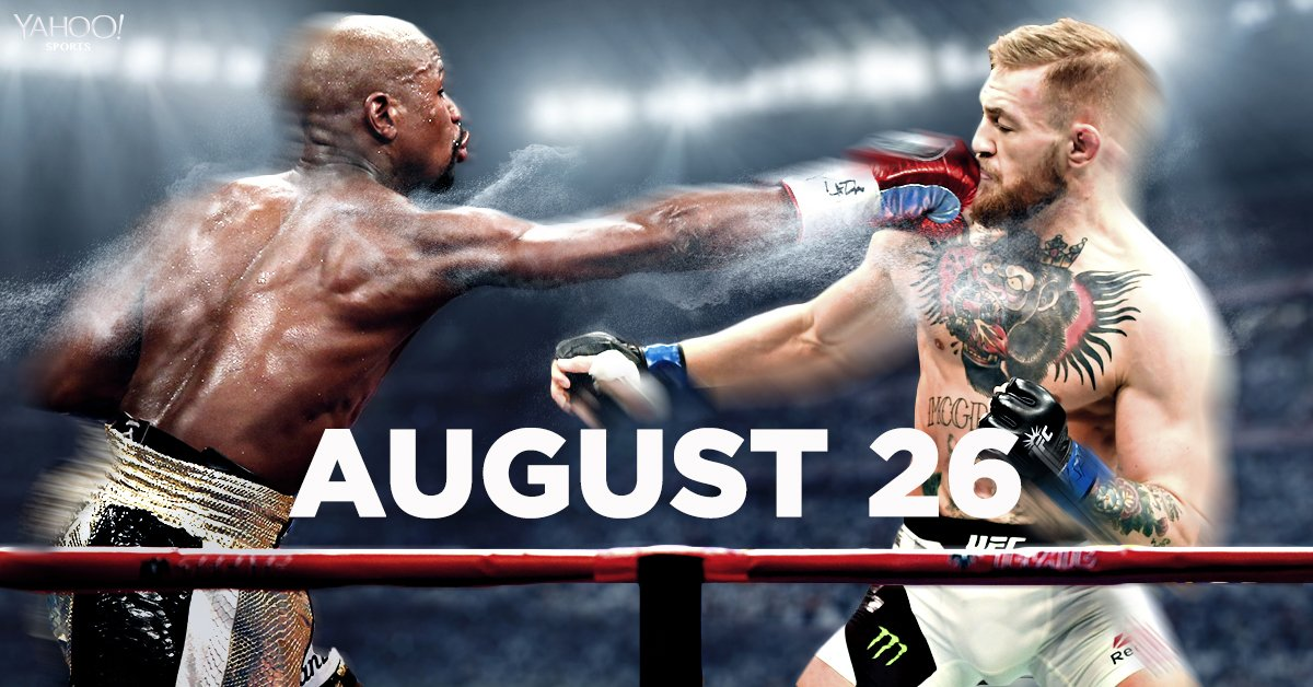 Floyd Mayweather vs. Conor McGregor is on for August 26! Here. We. Go! https://t.co/D8lvfiN1Lr https://t.co/0UoOj3Rsfk