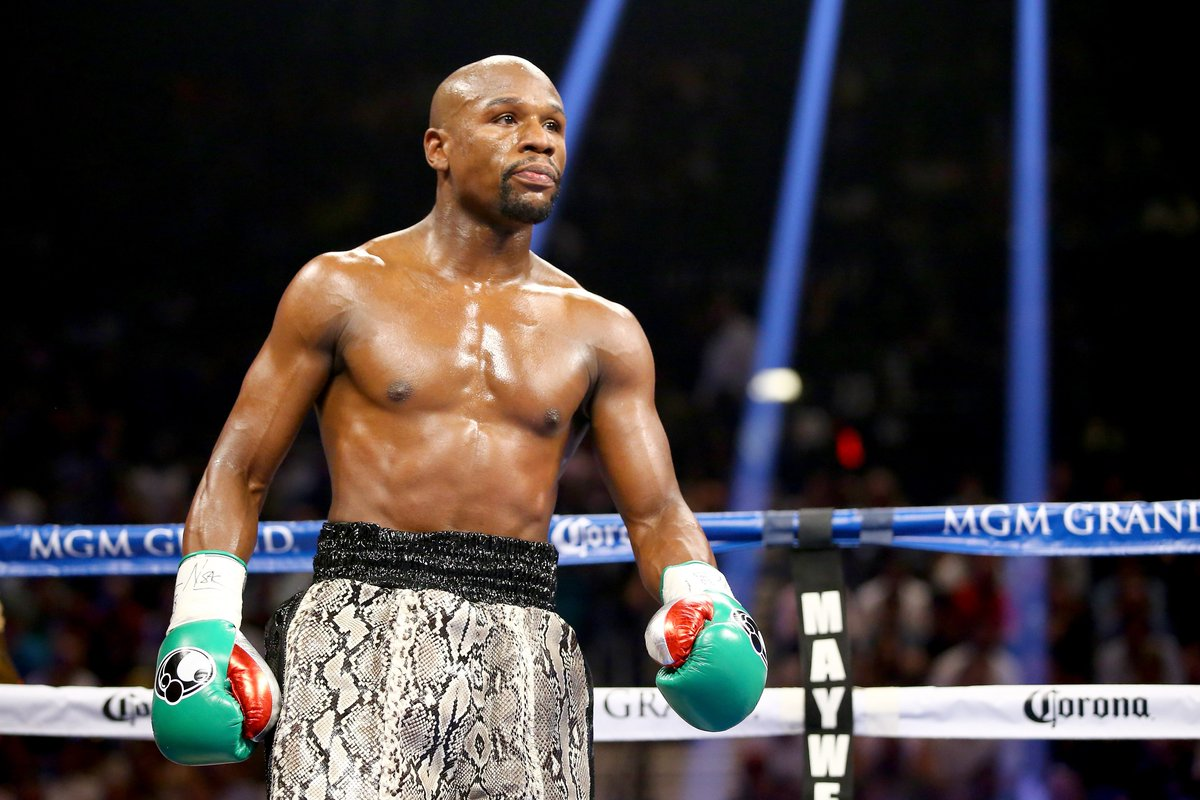 Breaking: Floyd Mayweather and Conor McGregor fight is set for August 26 in Las Vegas, per @YahooSports
