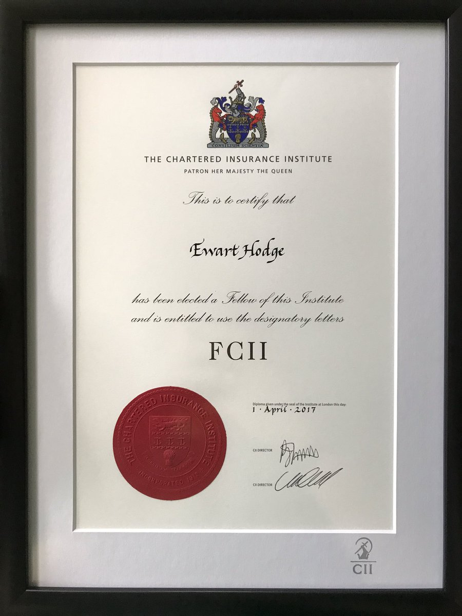 Ewart hodge on twitter well this came in the post today ewart hodge on twitter well this came in the post today ciigroup i never thought id get fcii let alone aciijust work hard and you can do it 1betcityfo Images