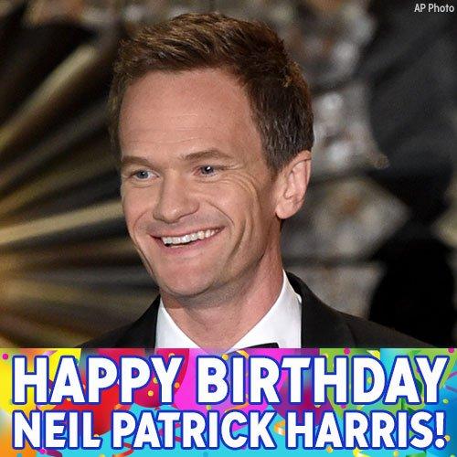 Happy Birthday, Neil Patrick Harris!