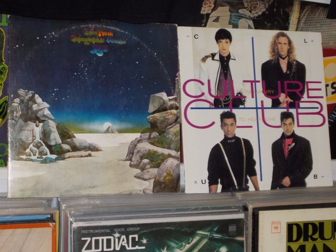 Happy Birthday to Alan White of Yes & Boy George of Culture Club