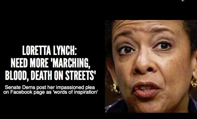 @RealJamesWoods It appears that's exactly what they want. I didn't say this, Atty Gen Loretta Lynch did. https://t.co/zoWXpoqXex