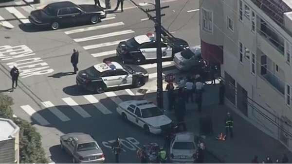 Balacera en UPS en San francisco; 2 muertos y varios heridos