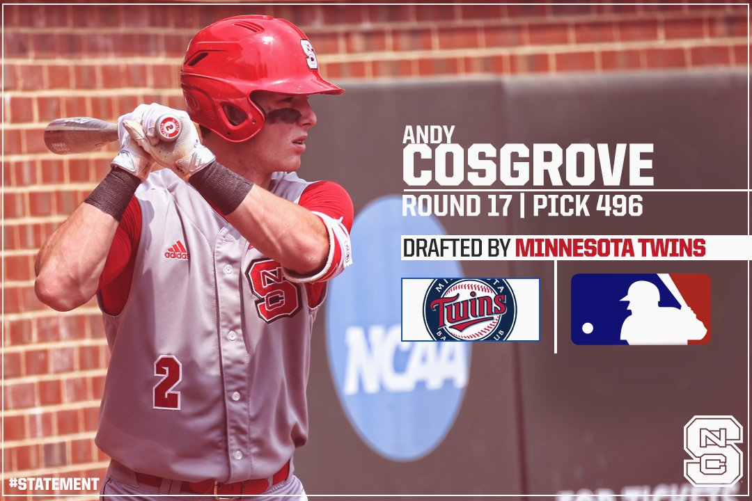 andy cosgrove, crown endeavors, sports agency, christian sports agent, minnesota twins, catcher, minnesota twins catcher, twins catcher, mlb catcher, mlb agent, andy cosgrove agent, nc state baseball