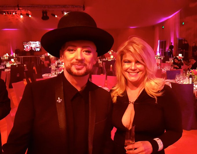 Happy Birthday to the voice of the Culture Club, Boy George.