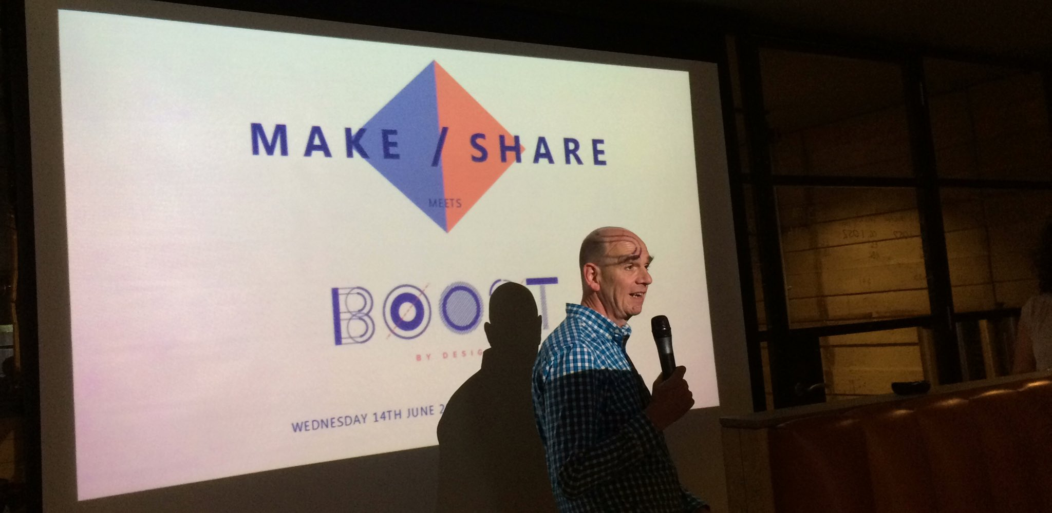 Tonight #makeshare meets #boostbydesign https://t.co/87NpDQPE3p