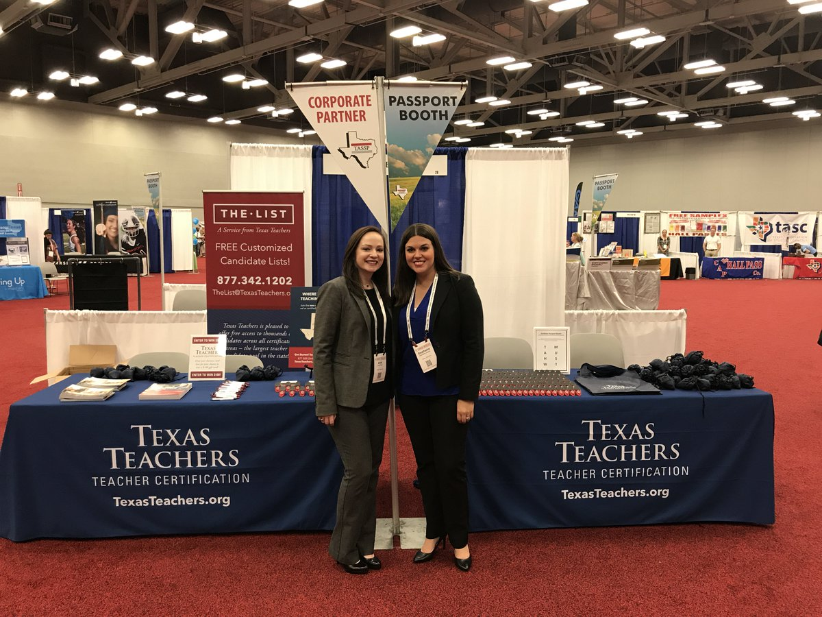 Texas teachers on twitter stop by and meet ariel and stephanie texas teachers on twitter stop by and meet ariel and stephanie at our booth at the tassp1 sw2017 where you can request a candidate list to fill teacher xflitez Choice Image