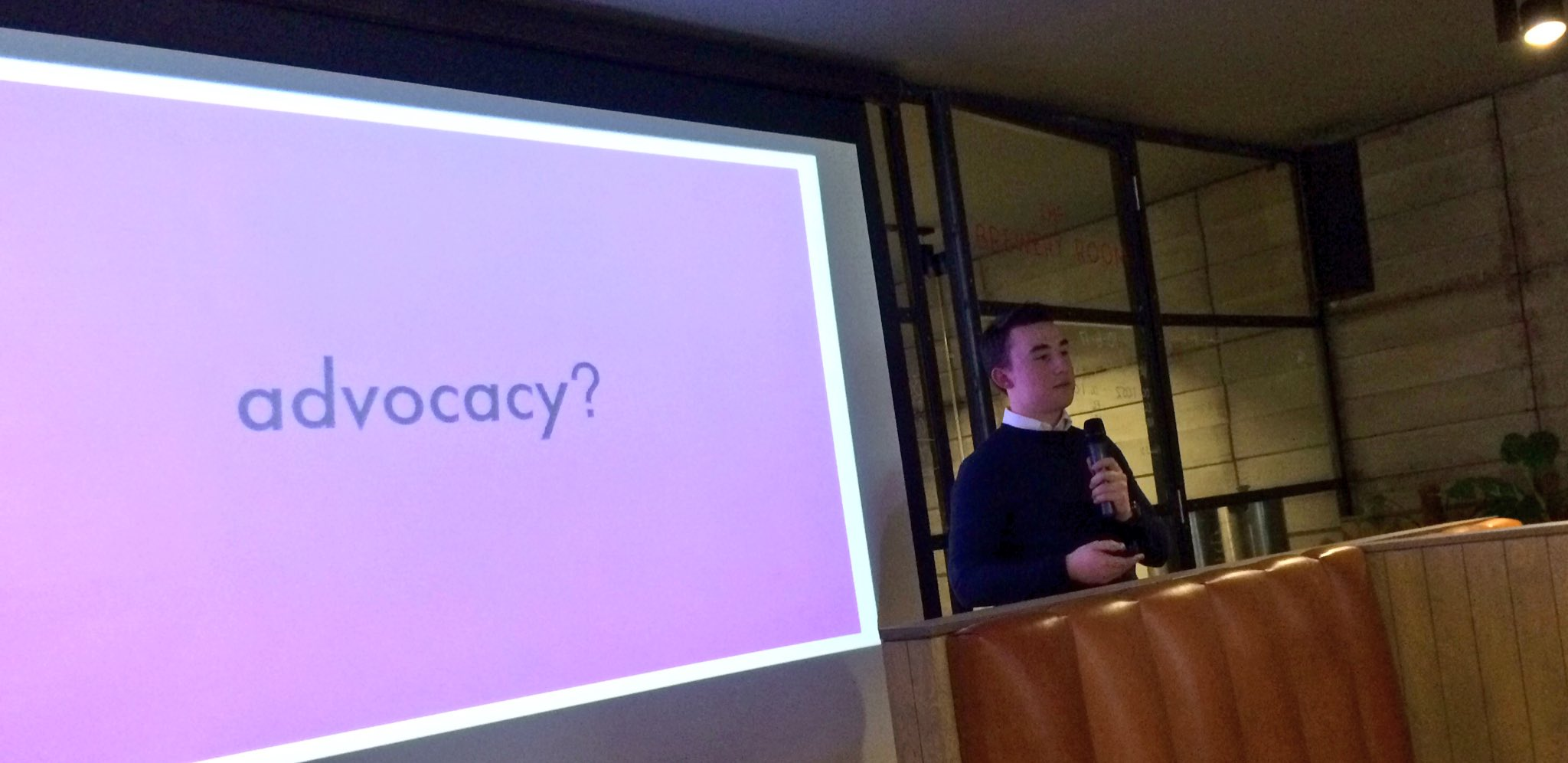 At #makeshare @ethan_dalziel explains with vision and clarity how #boostbydesign strengthened advocacy in the city https://t.co/PufhvDDg2Y