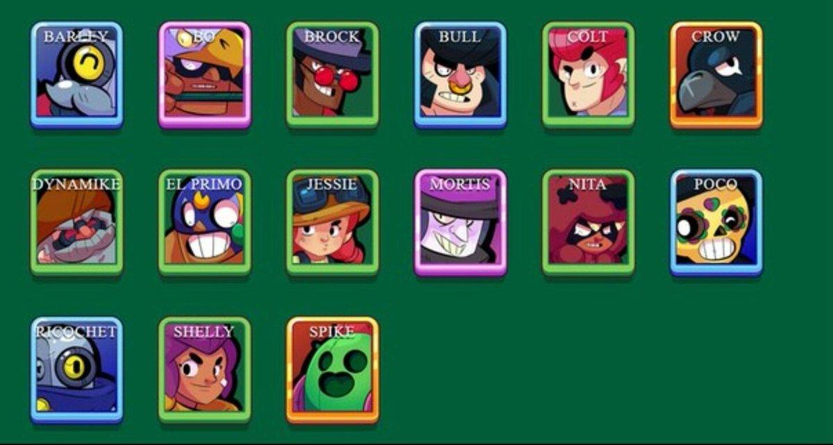 Персонажи с именами