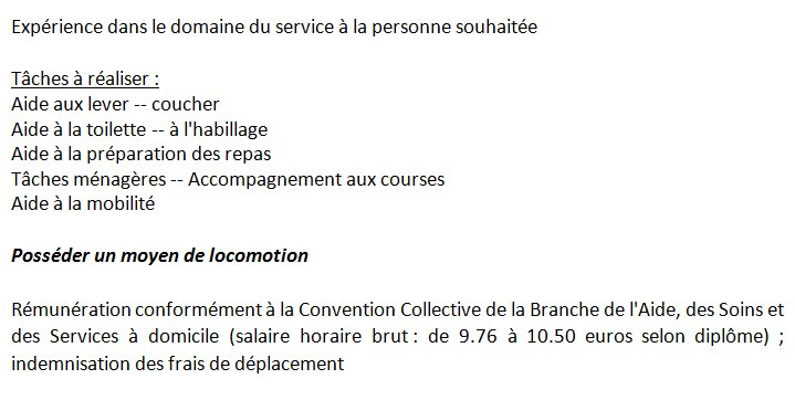 Lycee Chabanne On Twitter Info Cap Atmfc Offre D Emploi