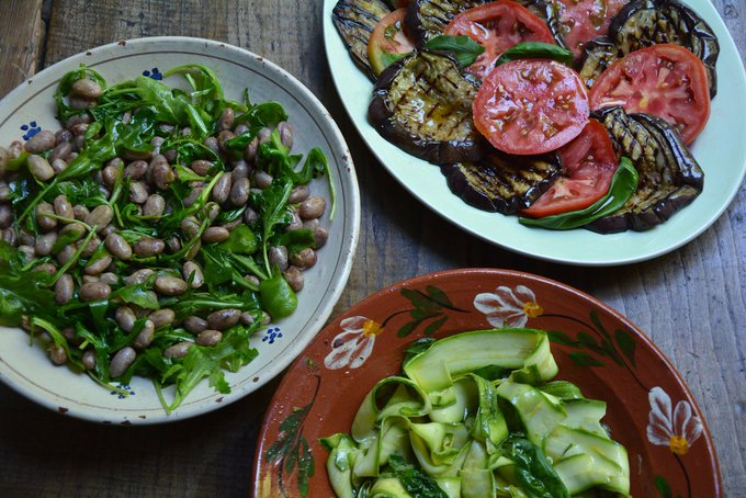 THREE SUMMER ANTIPASTI RECIPES by Rachel Roddy
