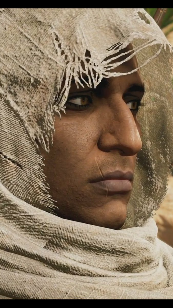 assassins creed origins bayek face