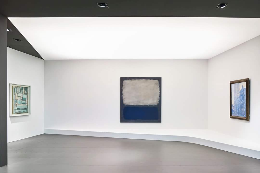 Magic Blue with Monet, Mondrian and Rothko from #beyelercollection at the #ArtBasel2017 #fondationbeyeler booth!  https://www. instagram.com/p/BVUq4HeFoYE/  &nbsp;  <br>http://pic.twitter.com/wmFICI77fT