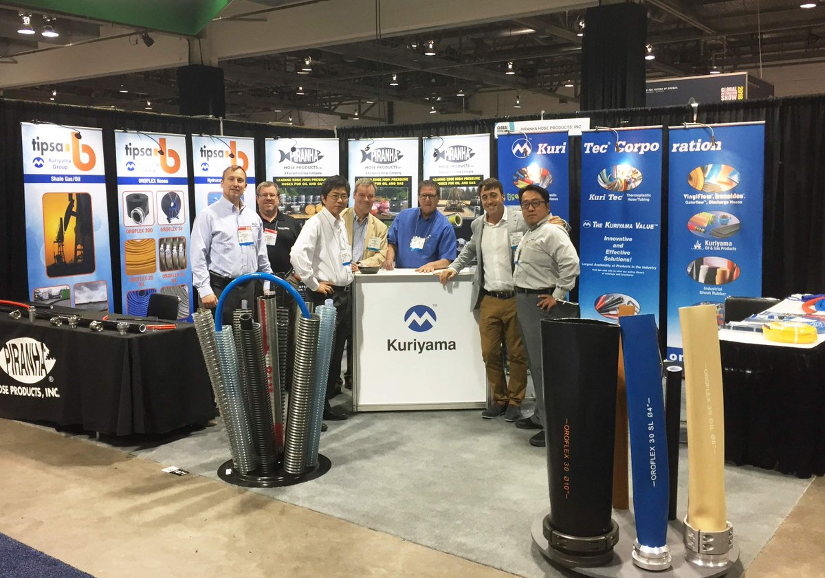 Stop by booth #1871 in Halls A, B &amp; C, at Global Petroleum Show to learn about our products for the #oil and #gas industry. #GES #Kuriyama<br>http://pic.twitter.com/k8LTDCOjKe