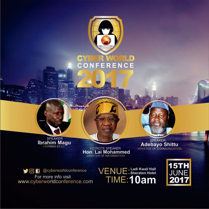 DCUPoZxVoAAA6vU Abuja To Host Cyber World Conference 2017
