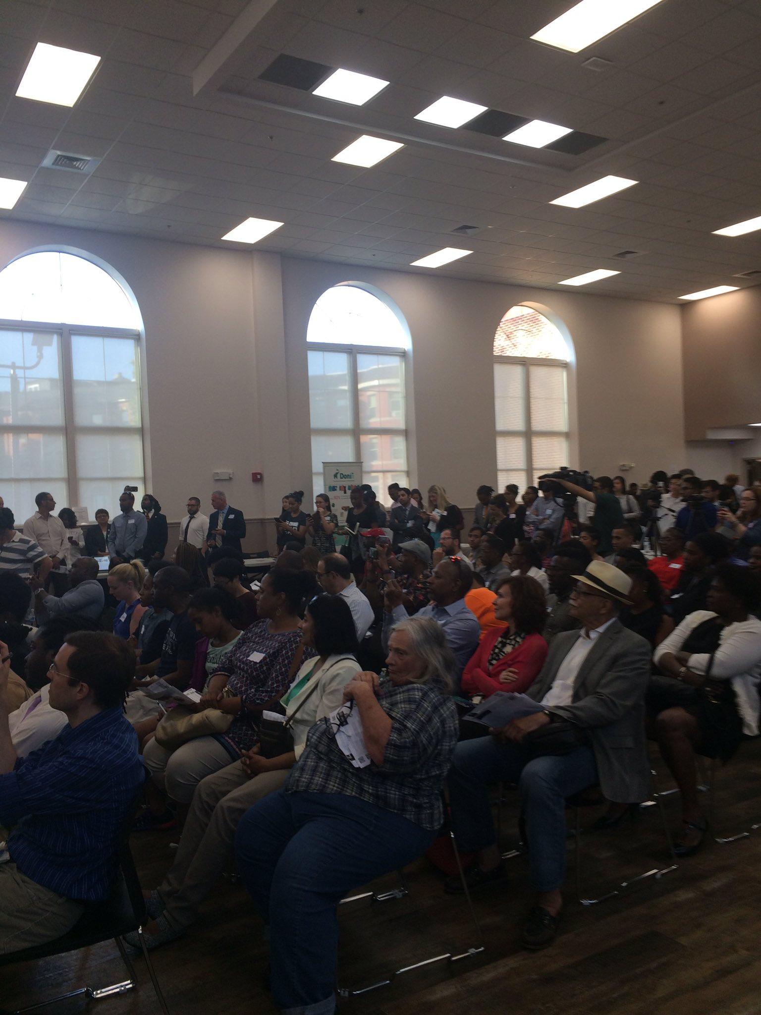 Great turnout here at the @MassInno in Roxbury! #MIN99 https://t.co/zEJkb5uyd9
