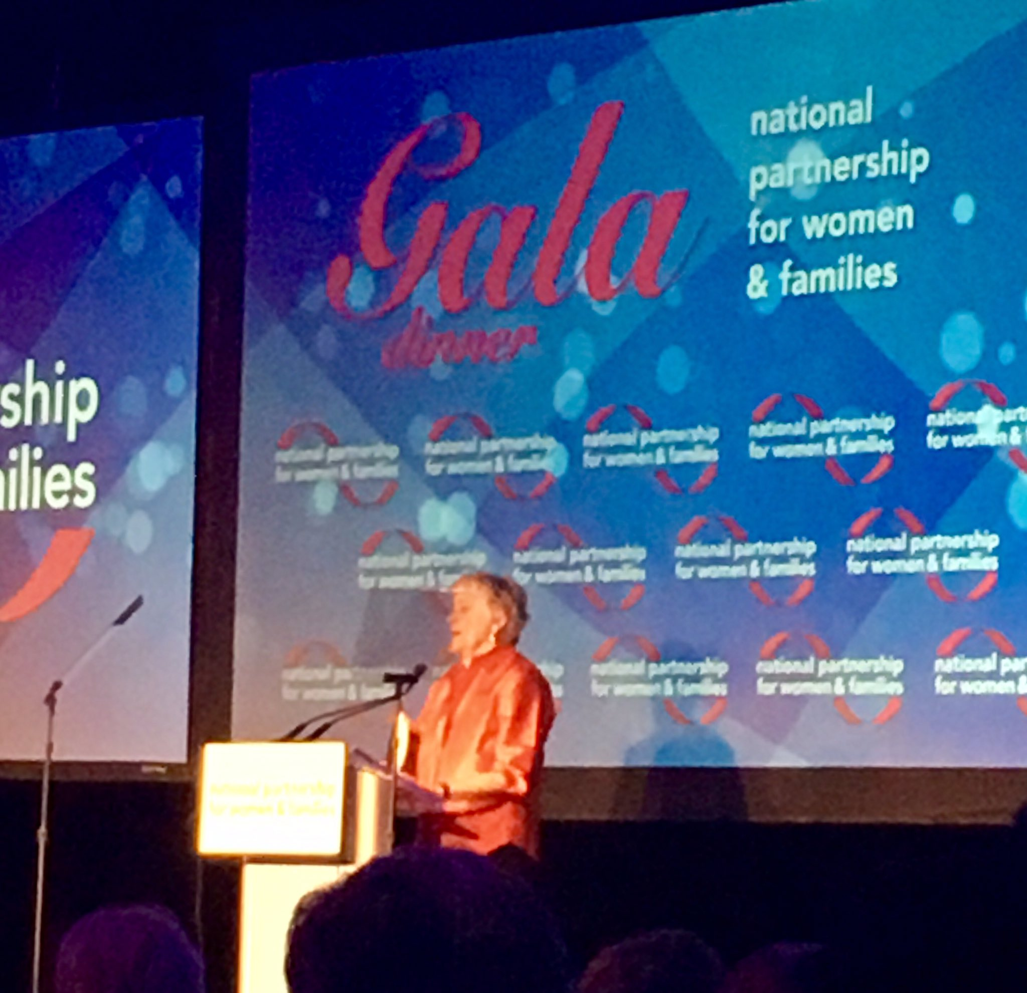 """When the times are tough, we get to work!"" Excited to see @EllenRMalcolm from my days as an intern at @emilyslist #NPGala https://t.co/9P8XY3NGEG"