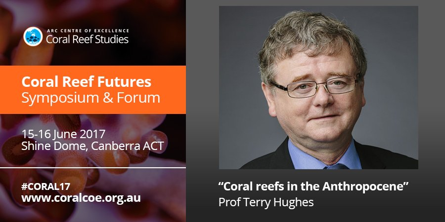 """. @ProfTerryHughes """"unprecentented mortality on 2/3 of the #GreatBarrierReef """" during the 2016/2017 bleaching events #CORAL17 https://t.co/oNKAcwcLAM"""