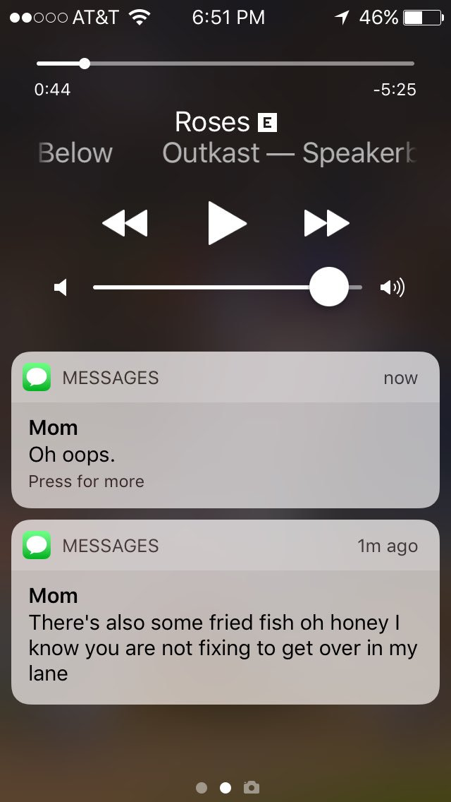 My mother likes to use the microphone function rather than typing to text while driving.