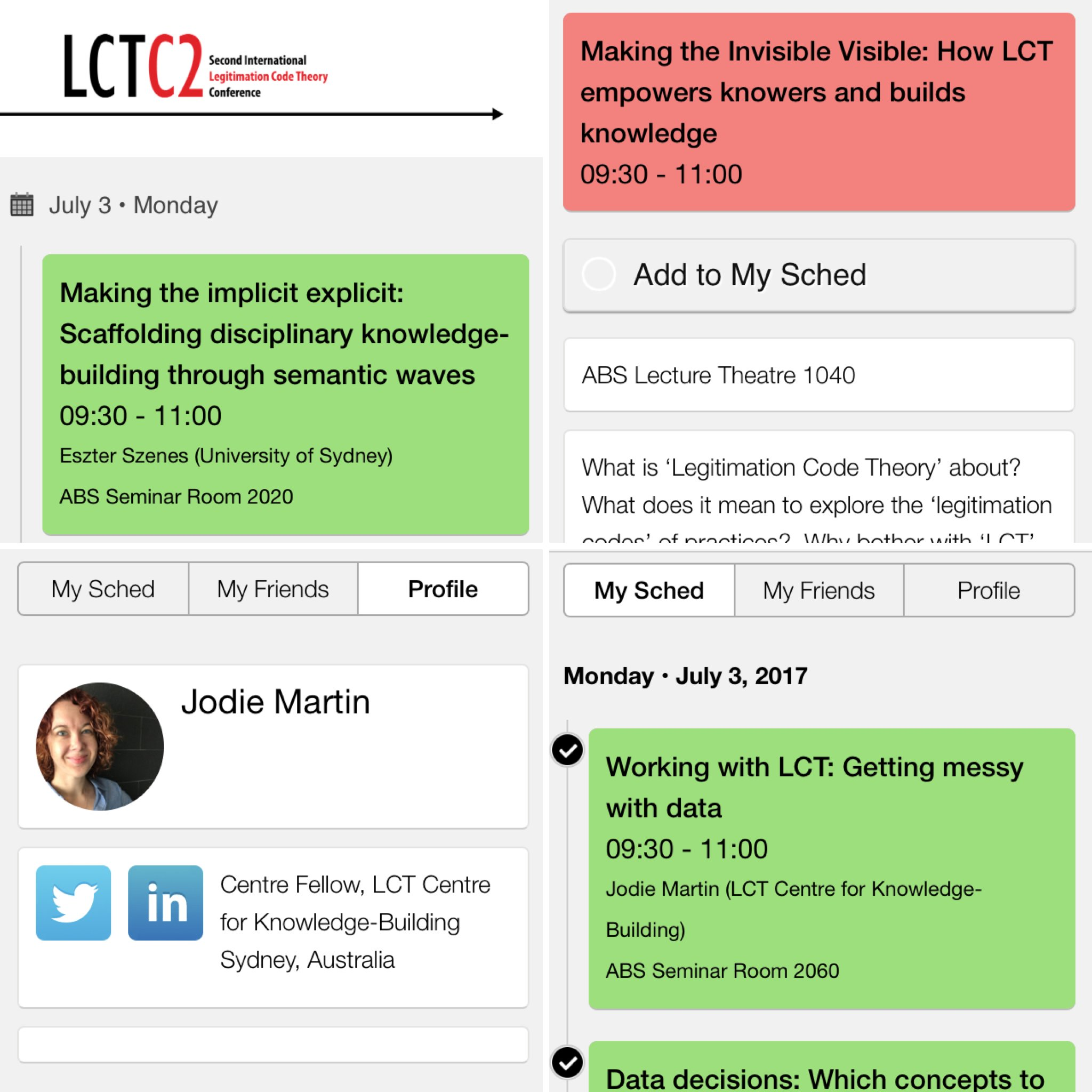EXCITING NEWS! LCTC2 has an app! Conference participants can now access the program with ALL abstracts through https://t.co/InBxsziNLY! https://t.co/0eoaImFOii