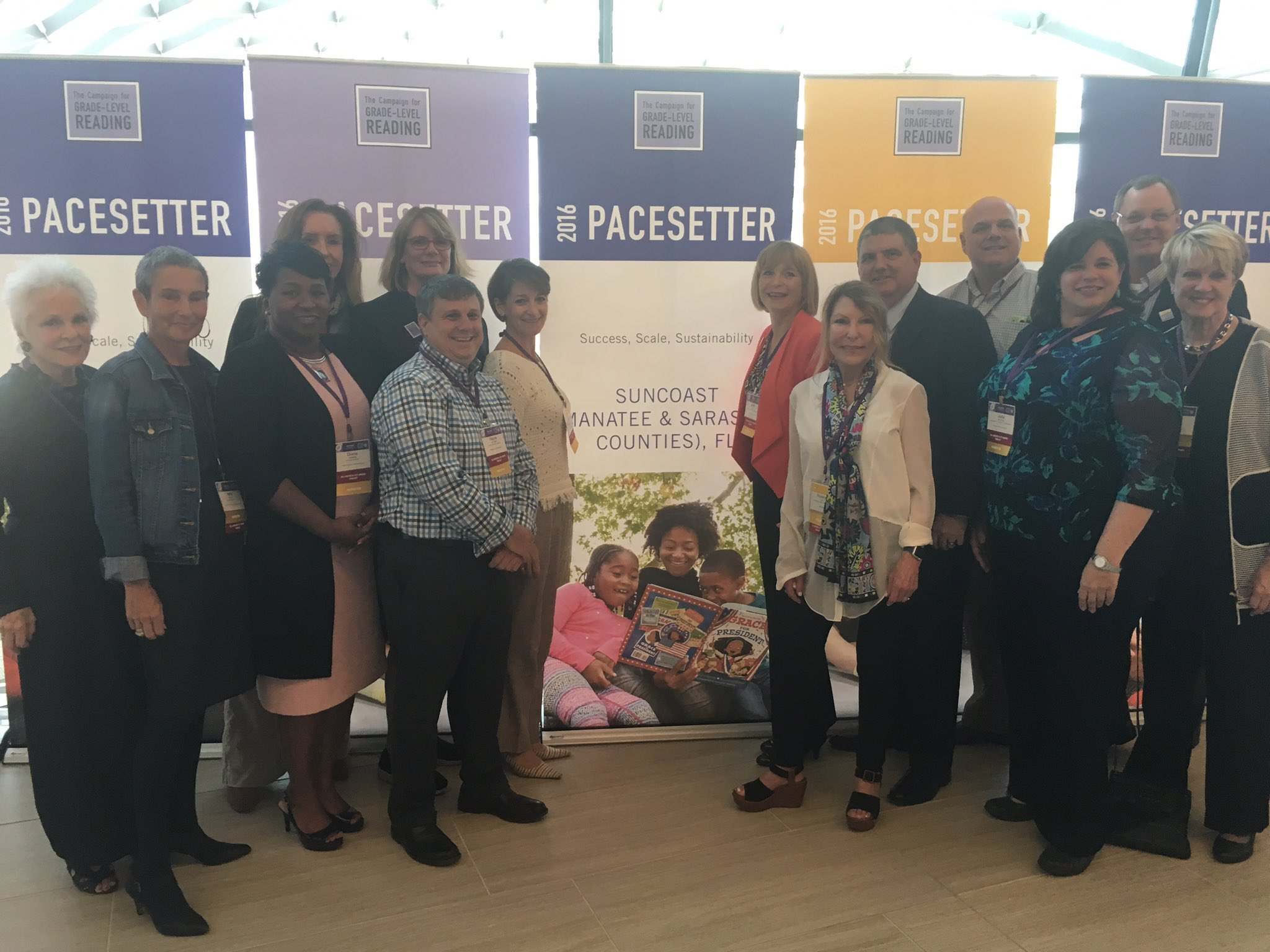 YAY for @SuncoastCGLR - what a team! Leader @duda_beth #Glrweek #pacesetter TY @ThePattersonFdn @DebraMJacobs https://t.co/T7fqVH28hG