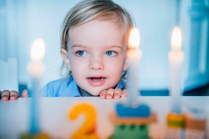 Prince Nicolas turns 2 today. Happy birthday!!