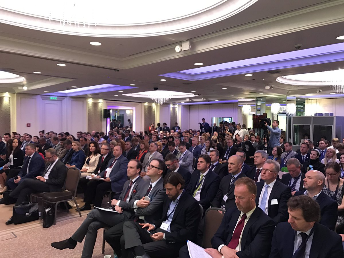 Full house at the opening of the Sweden-Ukraine Business Forum. I'm optimistic about prospects for increased trade and investments. #SUBF17