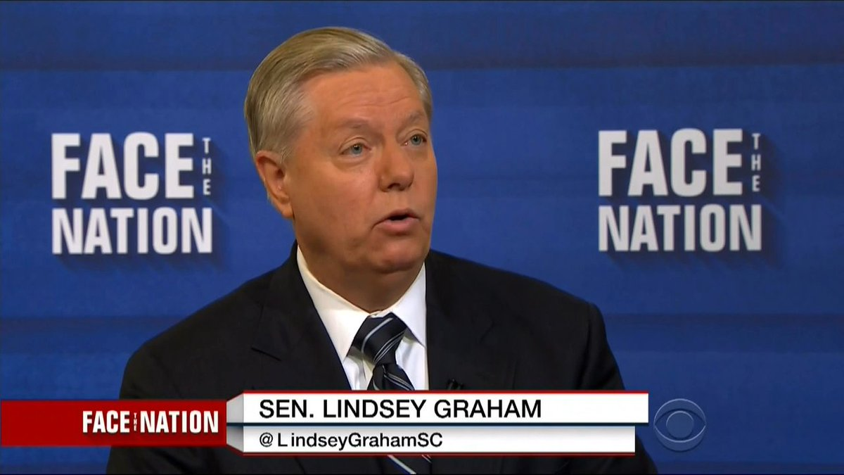 Lindsey Graham: Trump Could Be First President To 'Go Down' Because He Can't Keep Quiet http://crwd.fr/2sddU7H
