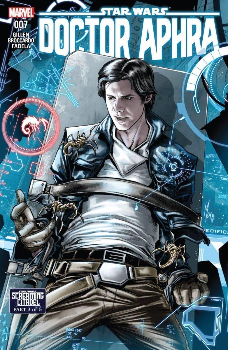 Marvel - 2017 Star Wars #32 - Action Figure Cover Screaming Citadel