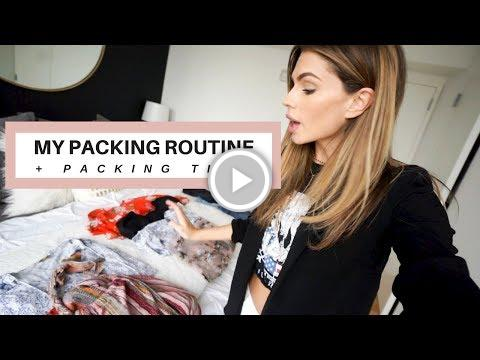 My Packing Routine + Packing Tips For Traveling