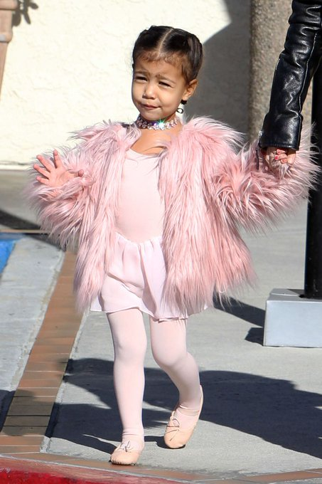 Kanye West & 1st born, North West, celebrates her 4th birthday today! Happy Birthday Darling