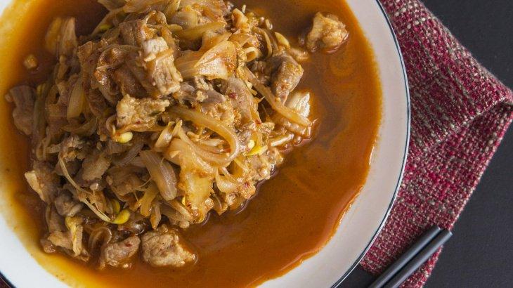 Жареная свиная корейка рецепт