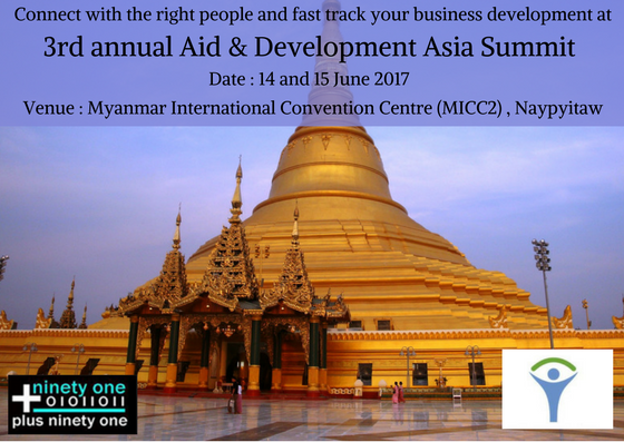 Share the topics discussed at 3rd Annual Aid & Development Asia Summit held at Myanmar International Convention Centre #AIDFAsia @FollowAIDF https://t.co/hcqO2z0jOM