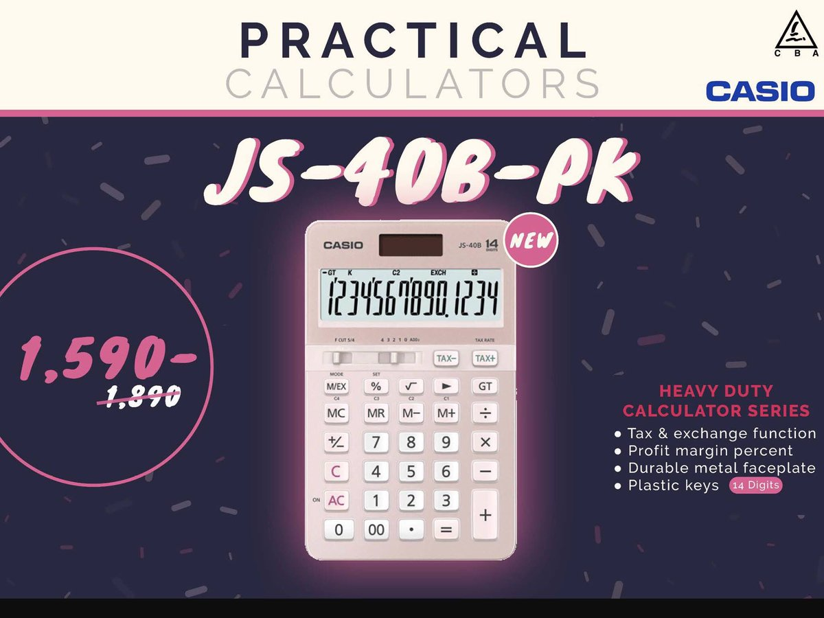 Shi78 Hashtag On Twitter Heavy Duty Calculators Js 40b Pk 0 Replies 2 Retweets Likes