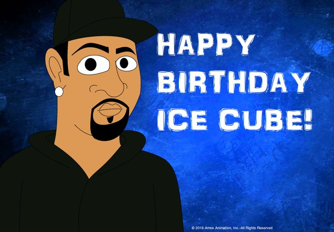 He is cool as ice! Happy Birthday Ice Cube!