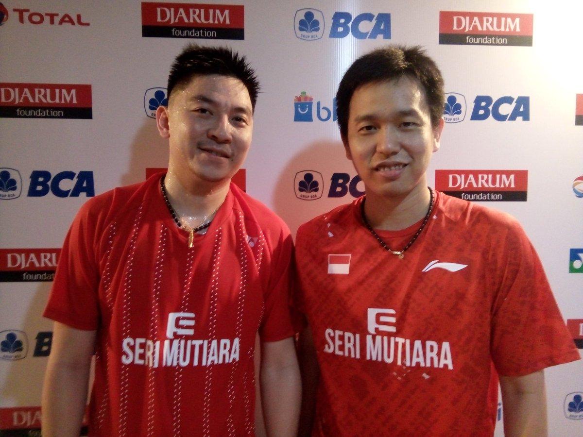 "BADMINTON INDONESIA on Twitter "" Result MD R2 IndonesiaSSP Li"