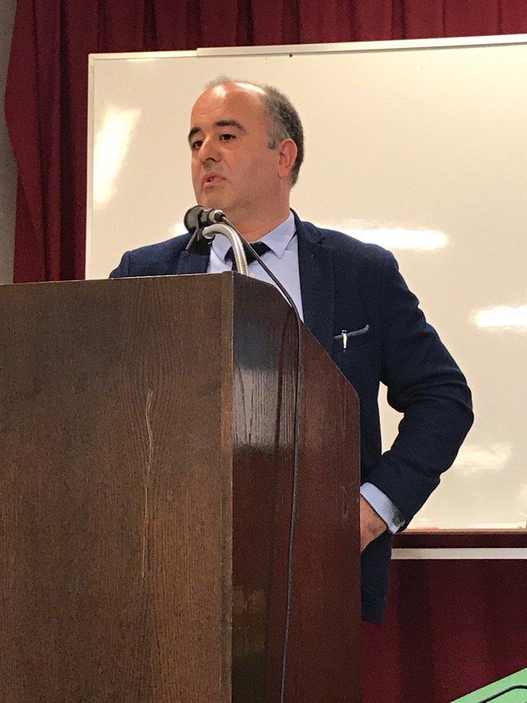Iñaki Pariente habla sobre la privacidad de los datos en salud #ehealthdonostia @ASaludDigital https://t.co/gREEPwhsgR